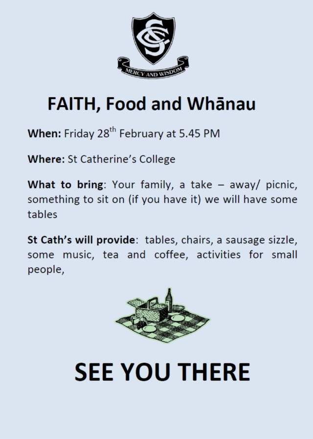Faith,Food and Whanau Image